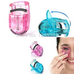 Wholesale mini eyelash curlers - Wholesale- 2PCS Women Lady Mini Pro Eyelash Curler Eye Lash Curling Clip Makeup Tool Beauty Kit Aw7