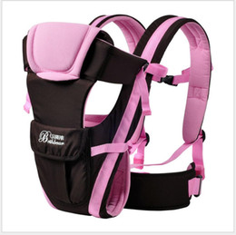 Wholesale cotton baby carrier - Top Brand 0-24M Ergonomic Baby Carrier Backpack Breathable Multifunctional Front Facing Sling Backpack Pouch Wrap Infant Kangaroo