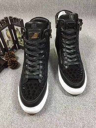 Wholesale Cheap Designer Free Shipping - Free Shipping Fashion Designer Shoe Man Casual Fashion PP Brand High Quality Lace Up Cheap Sneaker Shoe Flat