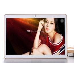 Wholesale Screen Protector Chinese - 10.1 Inch Tablet PC Eight Core Andriod 5.0 3G MTK8382 Phone Tablets Dual Card Camera 2 IPS 4GB 64GB Bluetooth GPS