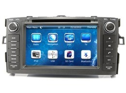 Wholesale Toyota Corolla Dash Navigation - Car DVD Player GPS Navigation for Toyota Corolla 2012 2013 with Radio Bluetooth USB SD AUX Audio Video Stereo