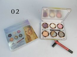 Wholesale Eyeliner Palette - Free Gift!!!NEW Makeup Oz The GREAT AND POWERFUL Glinda Palette Lipstick pen+6 color Eyeshadow+Eyeliner