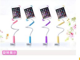 Wholesale Ipad Table Pc - 7 to 11 inch Ipad Universal holder Durable Flexible Long Arms Lazy Bed Desktop brackets Holder stand for ipad mini ipad 3 4 5 table PC fu