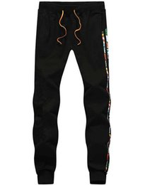 Wholesale Football Training Trousers - Outdoor football pants 2016 new football training pants leg trousers sports trousers Sweatpants
