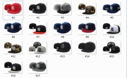 Wholesale Cheap Sports Logo Hats - Good Quality Cheap Wholesales New York Yankees Baseball Cap Embroidered Team logo Fitted Cap Sport Fit Hats Colorfull Free Shipping
