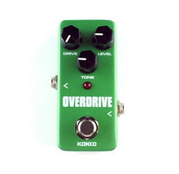Wholesale Pedals Vintage - Free shiping Mini KoKKo Vintage Overdrive Guitar Effect Pedal Guitarra Overdrive Booster High-Power Tube Overload Guitar Stompbox FOD3
