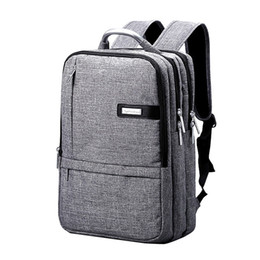 Wholesale Mini Pocket Notebook - Hot 2016 Fashion Brand Black Oxford Business Women Bagpack Pone Pocket Notebook Computer Backpacks Travel School Backbag Mochila