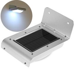 Wholesale Solar Energy Cooler - 16 LED cool white led Solar Power Energy PIR Infrared Motion Sensor Garden Security Lamp ip65 Outdoor Light