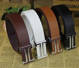 Wholesale Popular Belt Brands - New Designer Famous Fashion Leather Popular Belt Brand Mens Belts Luxury Classic Unisex Genuine PU Leather Belt