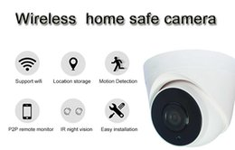 Wholesale Security Wireless Camera Iphone - 4ADM 1080P wireless security ip camera p2p indoor camera cctv dome camera Support iPhone   Android mobile phone connection AT