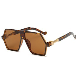 Wholesale Driver Hd - Fashion Sunglasses Men Mirror Mens Sun Glasses Big Oversized Round Driver Fishing Desinger Eyewear HD Lens Sports Glass YW036