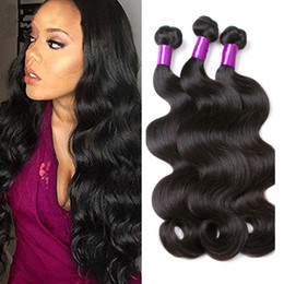 Wholesale Thick Brazilian Body Wave Bundles - 8A Unprocessed Human Hair Brazilian Body Wave Sew In Soft and Thick Virgin Hair Extensions 100g Queen Remy Human Hair Weave Bundles