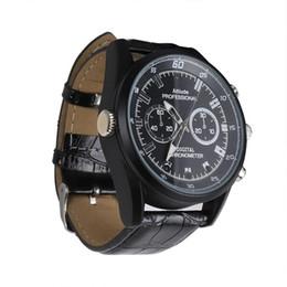 Wholesale Digital Spy Watches - IR Night Vision Watch Spy Camera Full HD 1080P Mini DV 8GB 16GB Ultra-thin Watch pinhole camera Digital Video Recorder Waterproof Hidden DVR