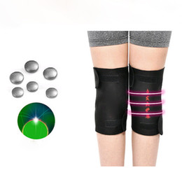 Wholesale massage tourmaline - Tourmaline Self Heating Kneepads Magnetic Therapy Knee Support Heating Belt Knee Massage Relieve Knee Pain Massager