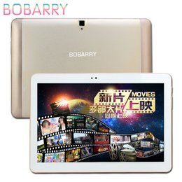 2019 tablette chinoise 64gb Vente en gros - 10.1 pouces BOBARRY S106 4G LTE Android 6.0 Tablet PC octa core 4 Go de RAM 128 Go ROM 5MP IPS Tablettes ordinateur MT6592