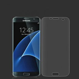 Wholesale Screen Protection Galaxy - 10pcs TPU Full Cover clear Front Protective Film Protection For Samsung Galaxy S6Edge S6Edgeplus  S7  S7Edge s8 s8Plus Screen Protector