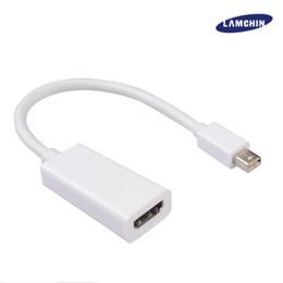 2019 apfelanzeige thunderbolt Thunderbolt Mini Display Port Displayport DP Stecker auf HDMI Buchse Adapterkabel für Apple Macbook Air PC Laptop mit Paket rabatt apfelanzeige thunderbolt