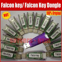 Wholesale Newest Original Falcon Dongle phones repair software tool for HTC BlackBerry Huawei Samsung ZTE LG falcon key agaent