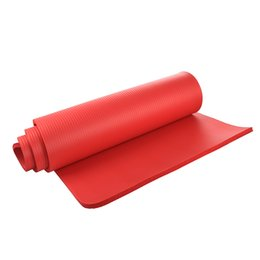 Wholesale Pilates Mat Exercises - Wholesale-Yoga Mat 15mm Thick Exercise Fitness Physio Pilates Gym Mat Non Slip Crash Mat, Red