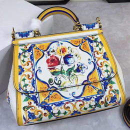 Wholesale Folk Star - Star with a bag in bag bag retro Sicily old antique folk style new handbag personality