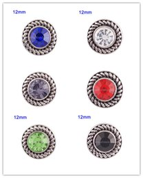 Wholesale Metal Alloy Clasp - Partnerbeads Interchangeable Jewelry Accessory 12mm snaps metal of design Button Ginger Snap Jewelry Free Shipping KS7001-S