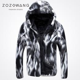 Оптовая продажа-2017 новый специальный Зимняя шуба повседневная мужская дикий толстый мех пальто кожа трава черный и белый мода! от