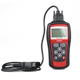 Wholesale Scan Tool For Cars Computer - KW808 GS509 OBD2 OBDII LCD Car Scantool AUTO Automotive Truck Diagnostic Scanner Tool Computer Vehicle Fault Code Reader Scan