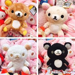 jouet de rilakkuma Promotion 25 cm en peluche jouets Kawaii Rilakkuma peluche animaux jouets jouets mignon ours en peluche enfants cadeaux de Noël