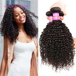 Wholesale Cheap Wholesale Bulk Virgin Hair - Cheap 7A Brazilian Afro Kinky Curly Human Hair Extensions Brazilian Curly Virgin Hair Weave 3 Bundles Deals Afro Kinky Curly Human Hair Bulk