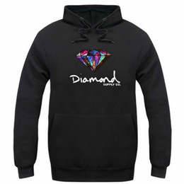 Wholesale Hoodie Sweatshirts Pullover Women - Diamond supply co men hoodie women street fleece warm sweatshirt winter autumn fashion hip hop primitive pullover