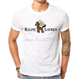 Wholesale Wholesale Hipster Clothes - Wholesale- New Funny Men's T-shirt 2017 Ralph Wiggum Lauren Cotton Male Tshirt White Short Sleeve Tops Hipster Tees Clothing JAB01