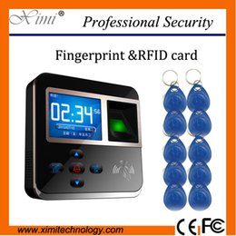 Wholesale Time Attendance Software Free - Wholesale- Free software free shipping ID card reader TCP IP 50000 Logs capacity record fingerprint time attendance access control system