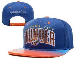 Wholesale Cap City Hats - 2017 Oklahoma City Adjustable Thunder Snapback Hat Thousands Snap Back Hats Basketball OKC Westbrook Paul George Cap men women Baseball Caps