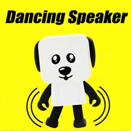 Wholesale Dance Speaker - 2018 Top quality Mini Bluetooth Speaker Smart Dancing Dog Speakers New Multi Portable Bluetooth Speakers Loudspeaker Creative Christmas Gift
