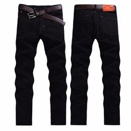 2019 bandera americana hombres capris Venta al por mayor-Moda de alta calidad de los pantalones vaqueros de los hombres de otoño e invierno de la moda de los hombres casuales pantalones biker jeans CHOLYL Brand biker jeans