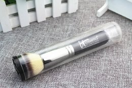 Wholesale Top Quality Synthetic Hair - IT COSMETICS Heavenly Luxe Flat Top Buffing Foundation Brush #6 - Original Quality - Beauty Makeup Brushes Blender Tools