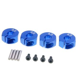 Wholesale Blue Hex - RC 6.0 Navy Blue Alum Wheel Hex 12mm Drive With Pins For 1:10 HSP HPI Tamiya Car