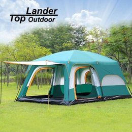 Australia Large Tent Family Waterproof Double Layer 8 10 12 Person Cabin Tent Two Living Rooms & Large Family Tents Australia | New Featured Large Family Tents at ...