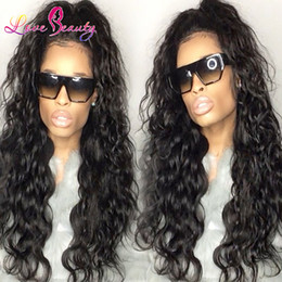 Wholesale Cheap Virgin Hair Free Shipping - Natural Weaves Malaysian Hair Cheap Brazilian Hair Peruvian human indian wavy Water Wave Natural Color Virgin Hair With Free Shipping