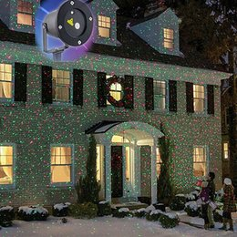 Wholesale Christmas Laser Stage - Outdoor IP65 waterproof Laser stage light,elf light christmas lights outdoor laser lighting projector red green firefly light projector