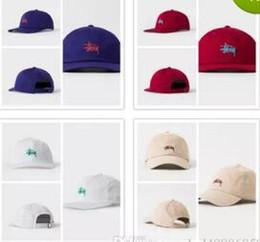 Wholesale Snapback Hat Usa - STUSS USA street adjustable snapback baseball cap hats for men women brand sports hip hop flat dad hat bone gorras cheap mens Casquette