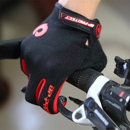 Wholesale Long Gloves Woman - Brand SPEZD Cycling Gloves Men Women Bicycle Bike Long Glove mtb GEL Riding Sports Full Finger Glove Bisiklet Black Luvas ciclismo