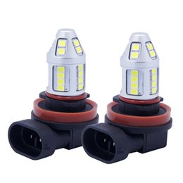 Wholesale Fog Lamp For Mazda - Quality car led lights H8 h9 h11 30led 2835smd xenon white for atv bmw audi honda vw mazda