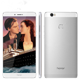 "Wholesale Huawei Android Dual Sim - Original Huawei Honor Note 8 Cell Phone Kirin 955 Octa Core 4G RAM 32G 64G 128G ROM 6.6"" 2K Screen 2.5D Glass 2560X1440px 13MP Mobile Phone"