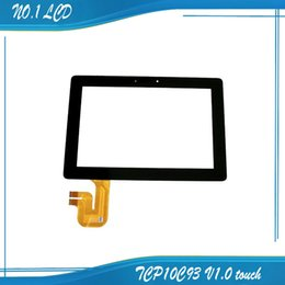Wholesale Ipad Transformer - Wholesale-Black TF201 TCP10C93 V1.0 For ASUS Eee Pad Transformer Prime TF201 touch screen digitizer touch panel tablet touch screen