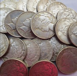 Wholesale people gifts - Wholesale A Whole Hole Set Of Peace Dollars (1921-1964) (25 Pcs) Copy Coins   Free Shipping High Quality