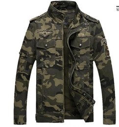 Army Military Jacke Männer Tarnung Tactical Camouflage Casual Fashon Bomber Jacken von Fabrikanten