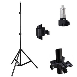 Wholesale Photo Video Accessories - New 2m Light Stand Tripod Photo Studio Accessories For Ring Light Softbox Photo Video Lighting Flashgun Lamps  umbrella