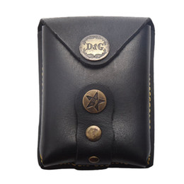 Wholesale Slingshots Pouch - Leather Slingshot Pouch Stainless Steel Balls Bag Top Cow Leather and durable economic