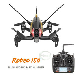 Wholesale Racing Heads - Wholesale- F18129 30 Original Walkera Rodeo 150 with DEVO 7 Remote Control Racing Drone with 600TVL Camera RTF BNF